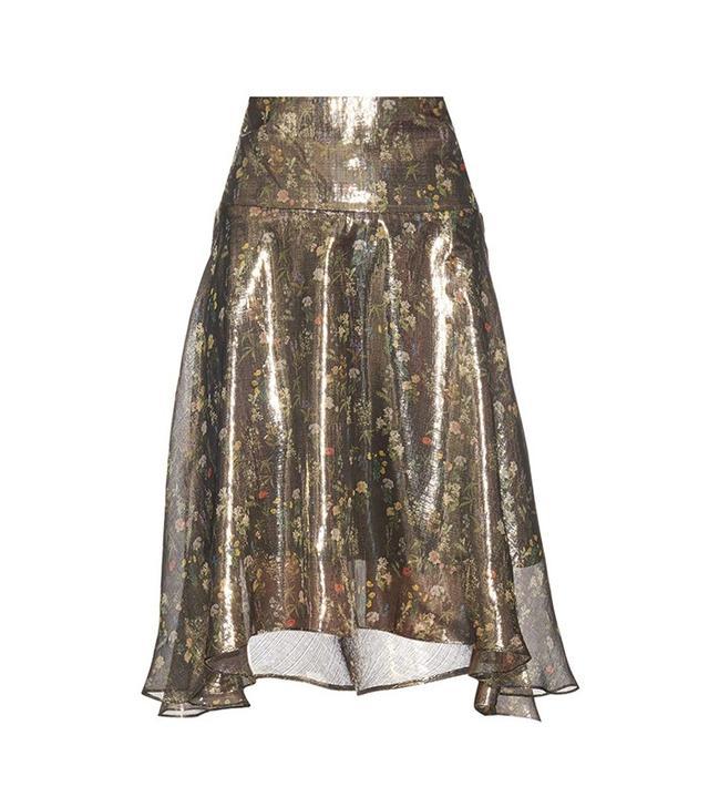 Preen by Thornton Bregazzi Amila Floral Print Skirt