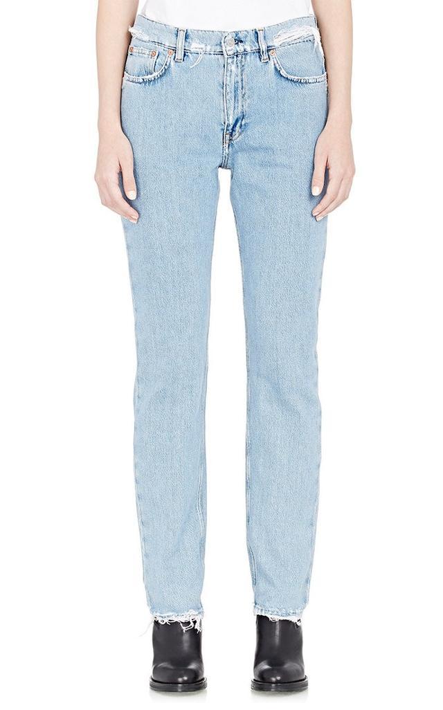 Acne Studios Frayed Boy Jeans