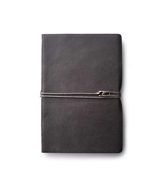 Miansai Vintage Gray Leather Journal