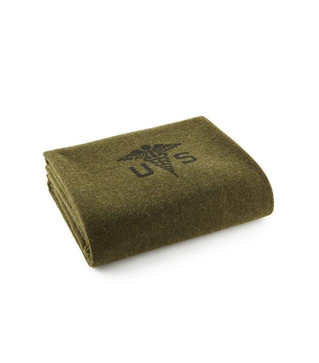 Faribault Foot Soldier Military Wool Blanket