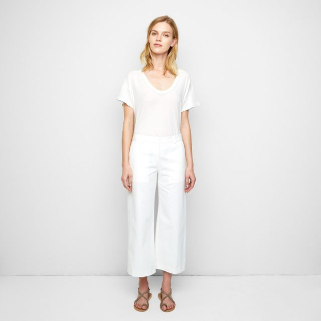 Jenni Kayne Silk Cropped Baja Pants