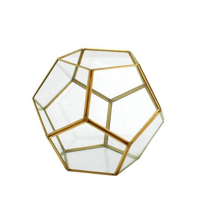 Oro Glass Dodecahedron Terrarium