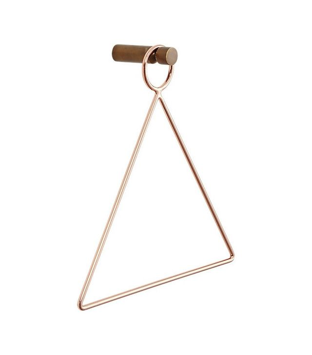 CB2 Copper Accessory-Towel Holder