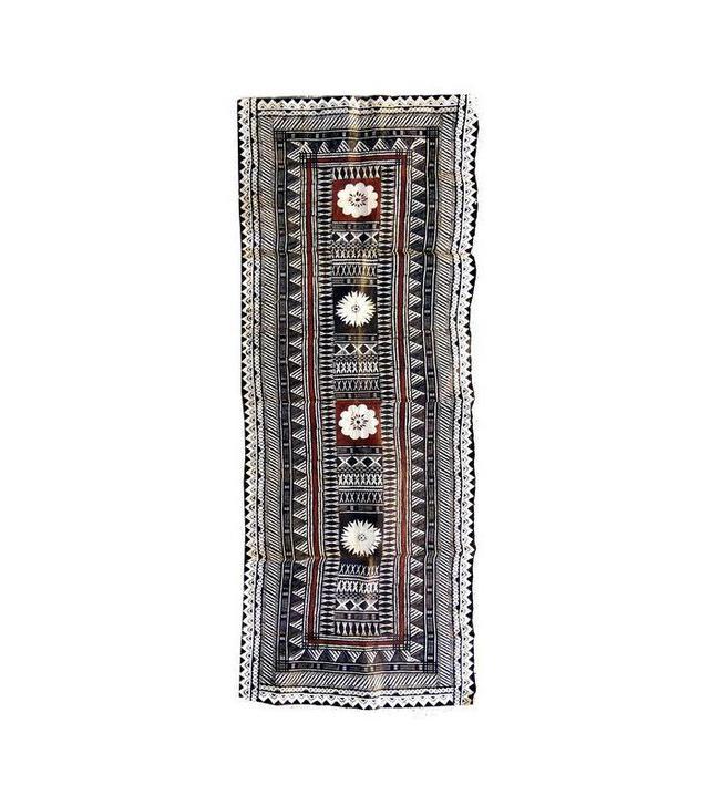 Chairish Vintage Figian Tapa Bark Cloth Panel