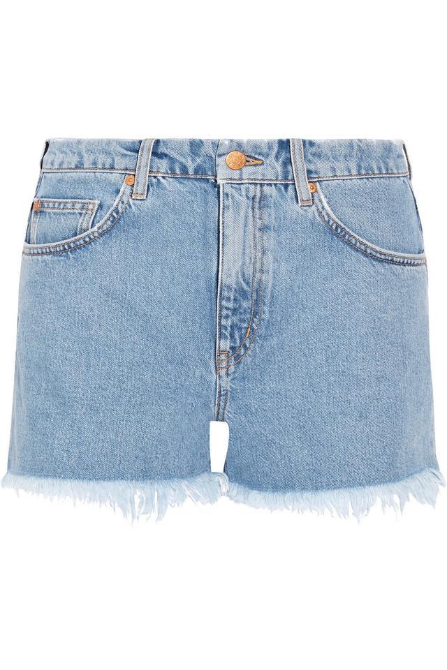 M.i.h Jeans Halsy Cut-Off Denim Shorts