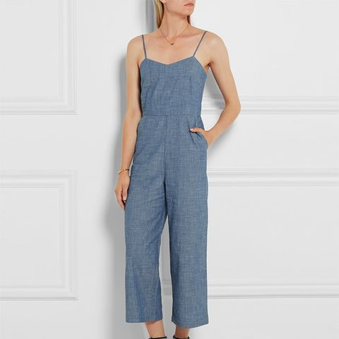 Roadrunner Chambray Jumpsuit