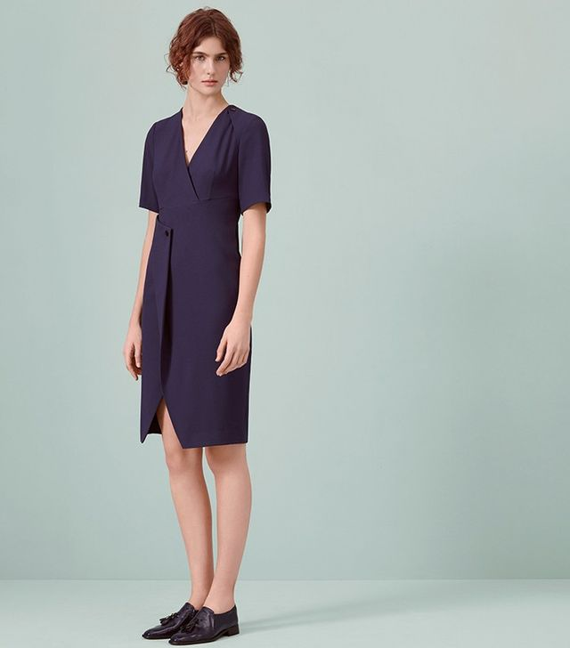 Finery Eamont Popper Detail Dress