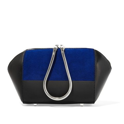 Chastity Suede and Leather Cosmetics Case
