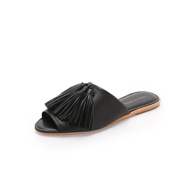 Loeffler Randall Kiki Flat Slides