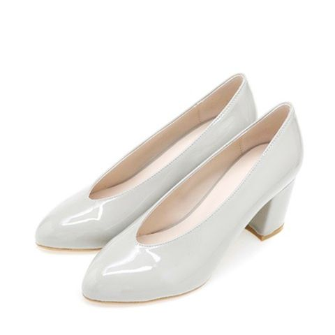 Daily Enamel Platform Shoes