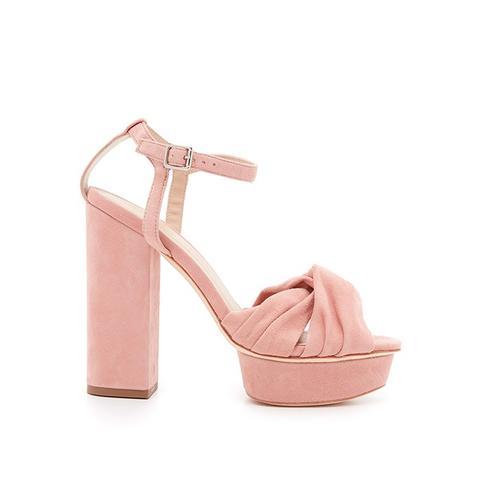 Arbella Suede Platform Sandals