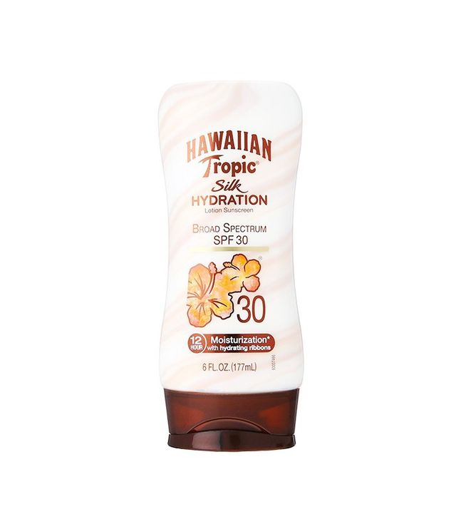 Hawaiian Tropic Silk Hydration Moisturizing Broad Spectrum Sunscreen Lotion SPF 30