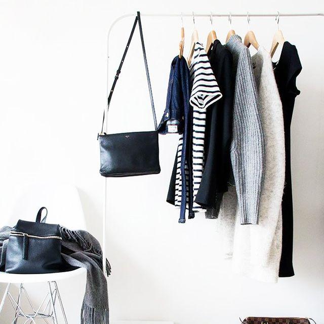 This Is the Savvy Way to Save Floor Space in Your Closet