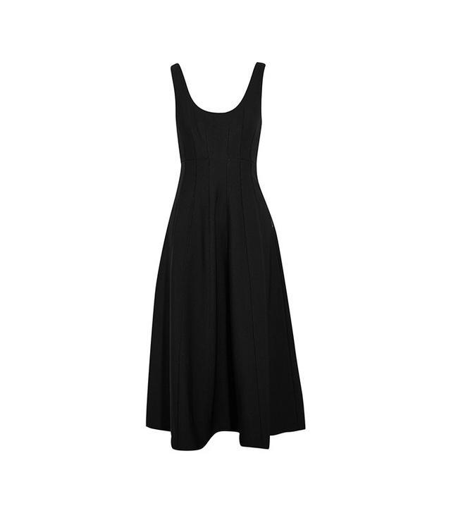 Tibi Stretch-Knit Midi Dress