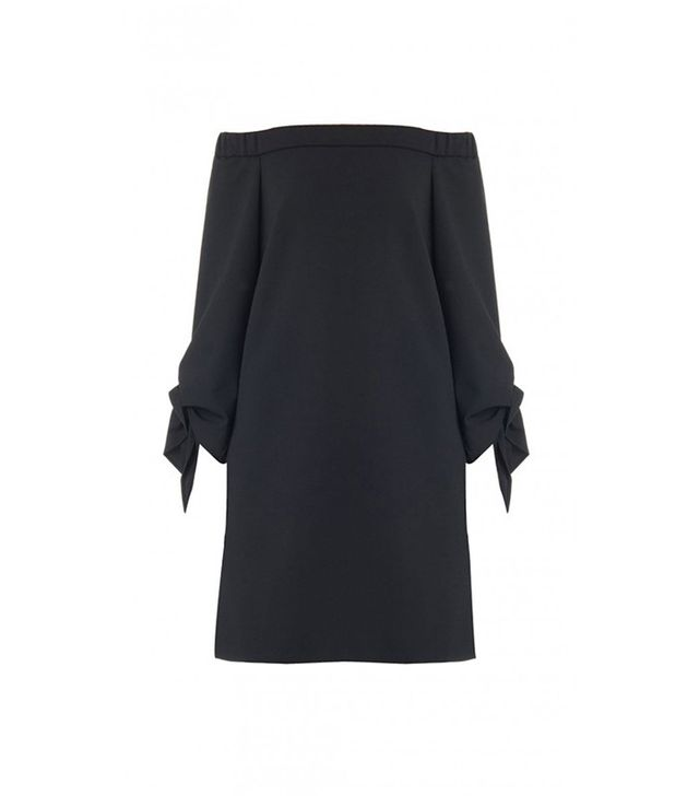 Tibi Structured Off-the-Shoulder Dress
