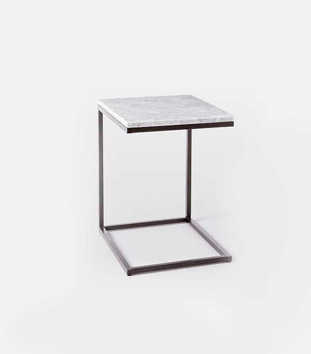 West Elm Box Frame C-Base Side Table