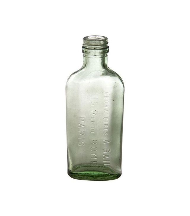 Chairish French Green Glass A. Bailly Paris Bottle