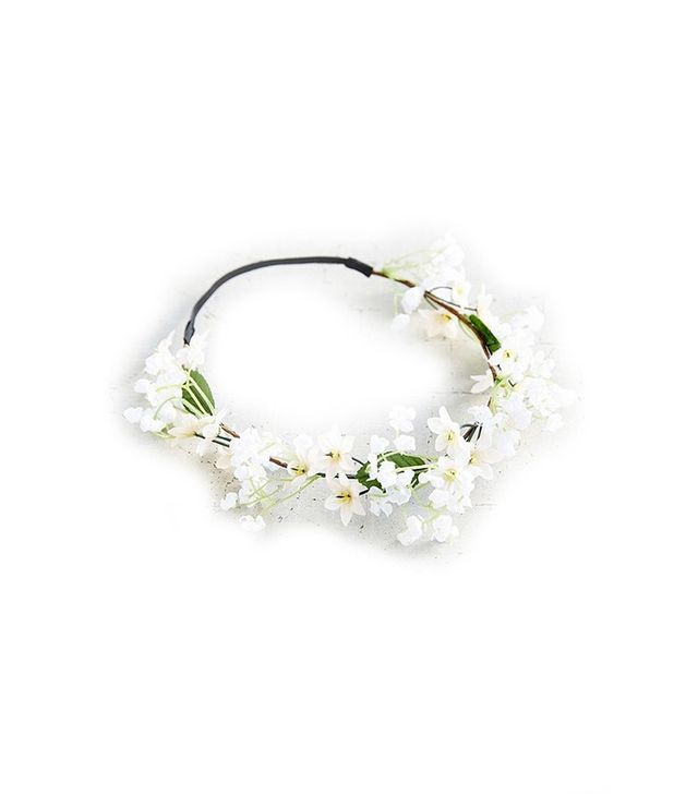 Island Falls Flower Crown