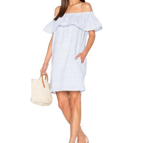 Lea Ruffle Mini Dress