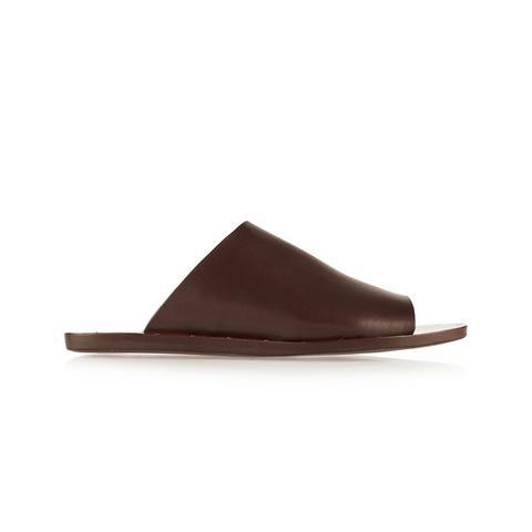 Romy Leather Slides