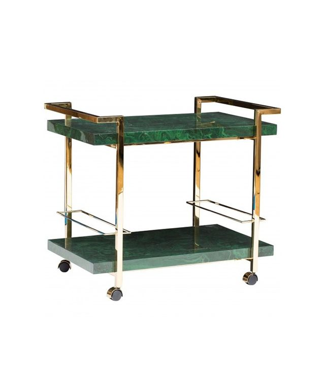 High Fashion Home Maddox Bar Cart