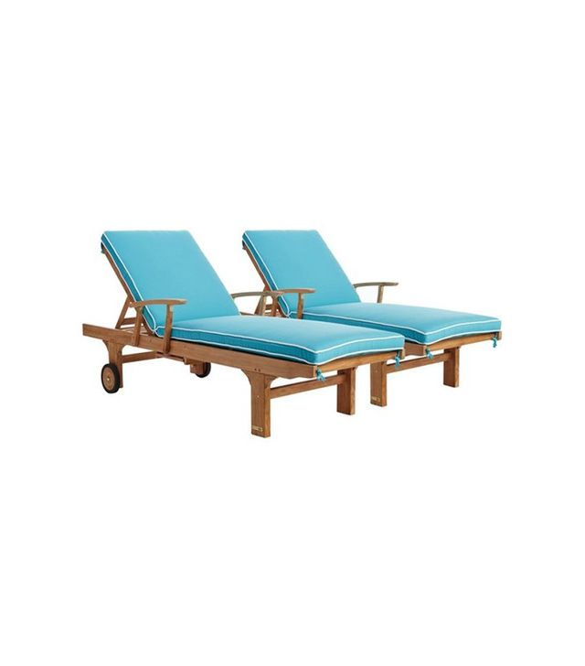 Regal Teak Aruba Sun Loungers
