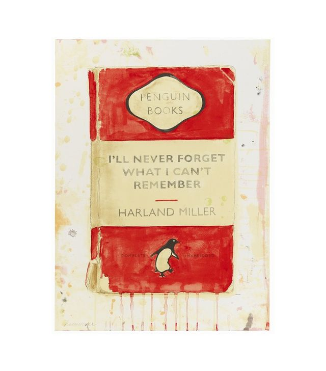 """I'll Never Forget What I Can't Remember"" by Harland Miller"