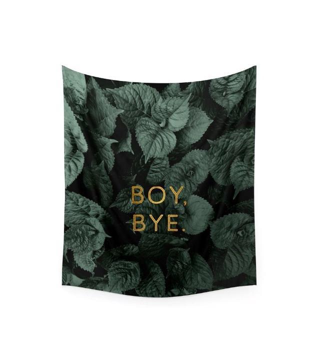 "Society6 ""Boy Bye"" Wall Tapestry by Tina Crespo"