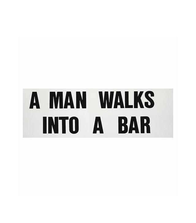 """A Man Walks Into a Bar"" by Leo Fitzpatrick"