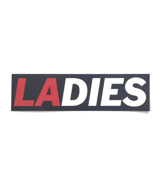 """""""Ladies"""" Sticker by Matt Maust"""