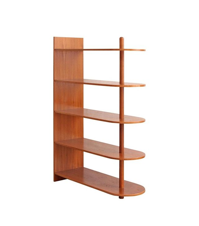 Vintage Danish Teak Bookcase Freestanding Shelves