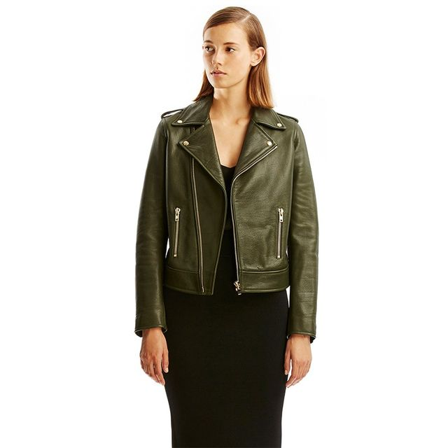 Scanlan Theodore Leather Biker Jacket
