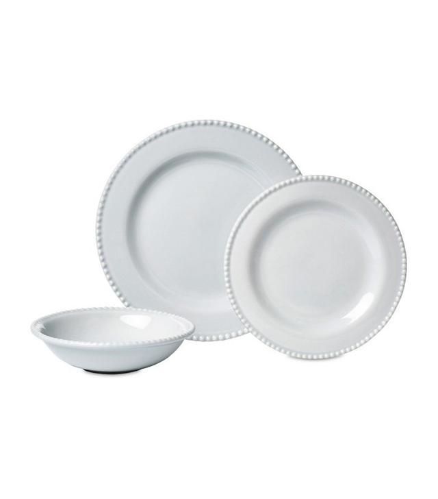 One Kings Lane Beaded-Rim Salad Plates