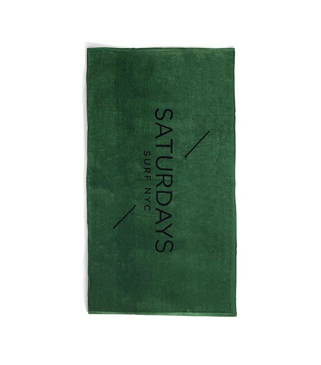 Saturdays Surf NYC Grass Beach Towel