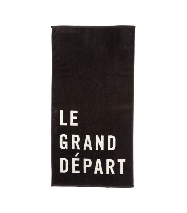 Clare V Le Grand Départ Beach Towel