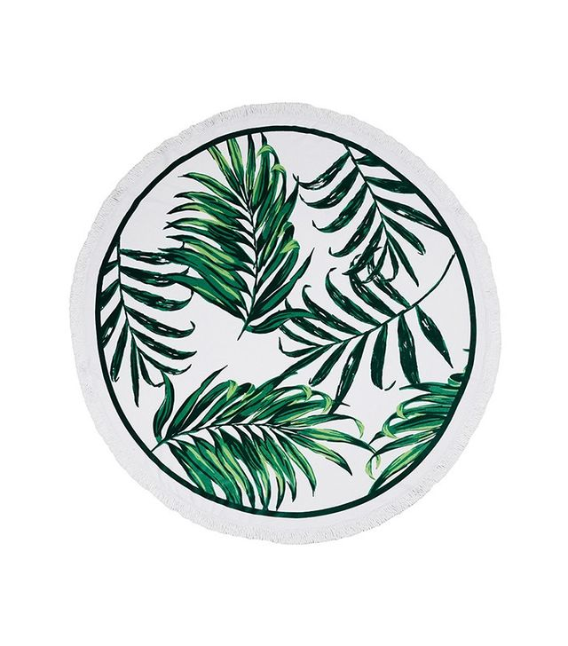 Palm & Beach Mustique Round Towel