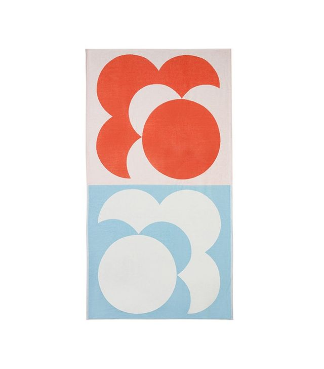 Orla Kiely Bigspot Shadow Flower Beach Towel