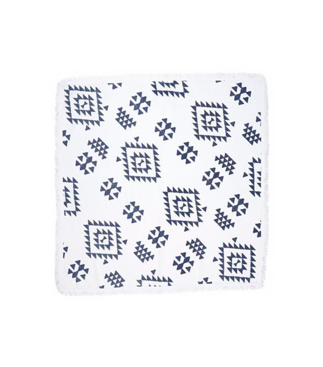 Soleil Geo Print Square Beach Towel