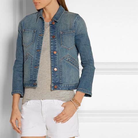 Lacy Denim Jacket