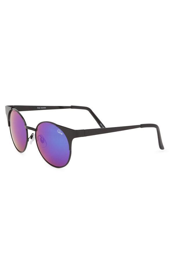 Quay Asha Half Frame Sunglasses