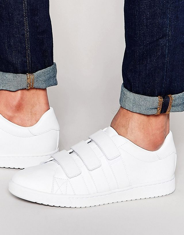 ASOS Trainers in White with Straps