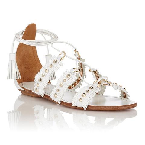 Tulum Lace-Up Sandals