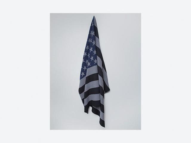Wolves Within Black Flag Blanket
