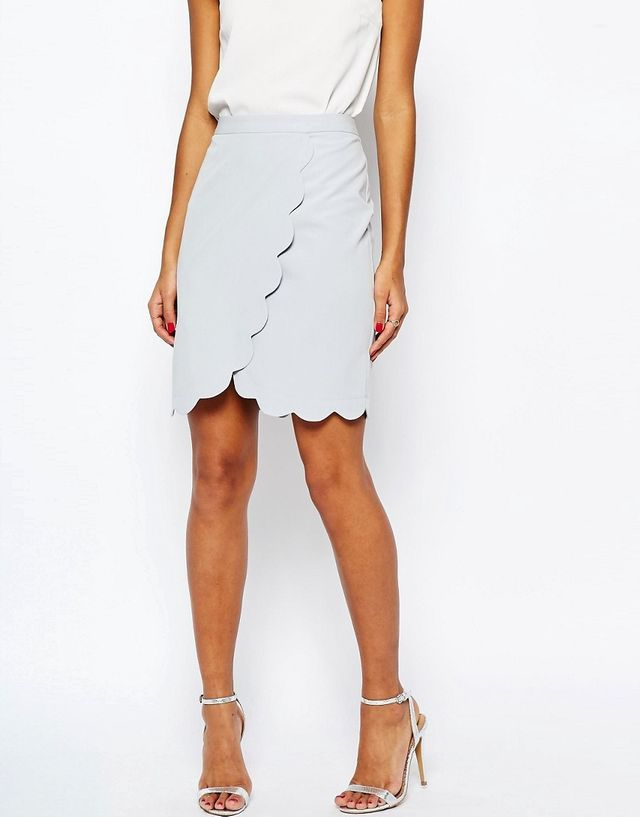ASOS Wrap Pencil Skirt