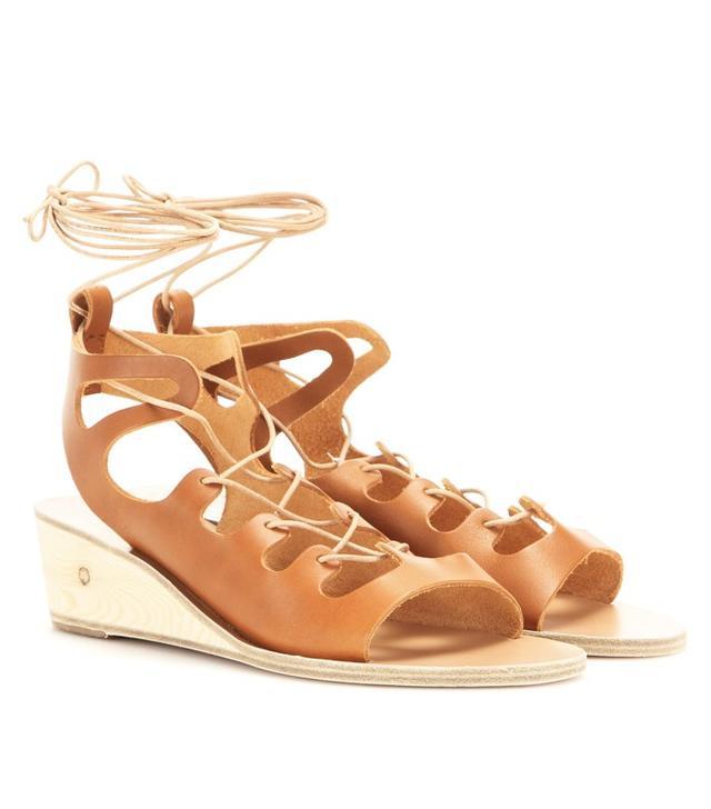 Ancient Greek Sandals Antigone Wedge Sandals