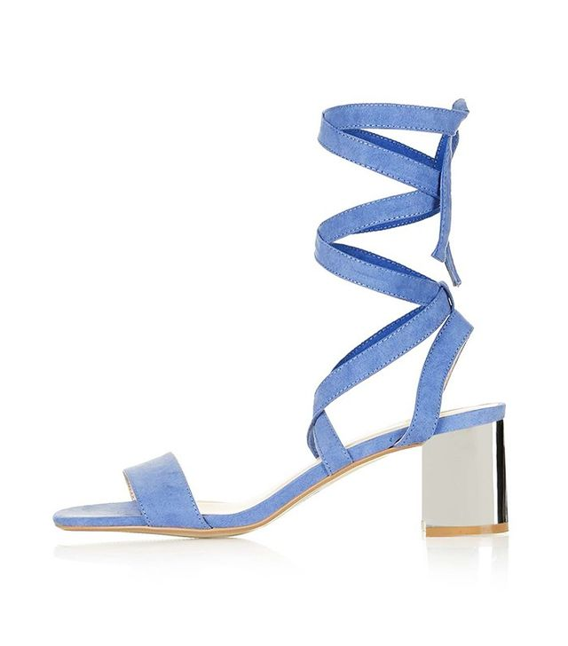 Topshop Delilah Tie-Up Sandals