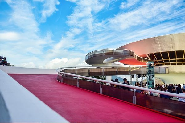 """""""The Niterói Museum of Contemporary Artfeels like the perfect venue for presenting this collection. There's something so magical about the contrast between the stern..."""