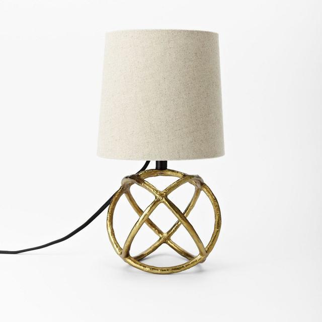 West Elm Mini Geodesic Table Lamp