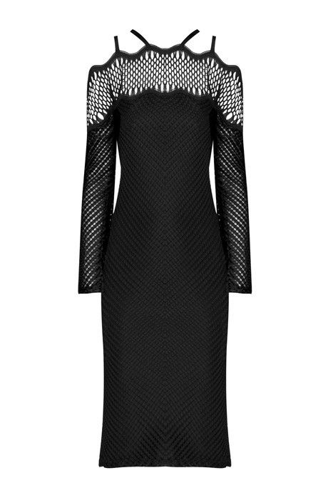 Christopher Esber Dreamcatcher Long Sleeve Dress