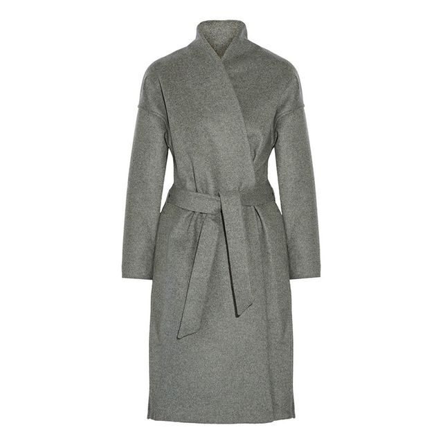 Totême Chelsea Belted Wool-Blend Coat